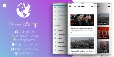 NewsAmp - Swift News Application