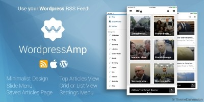 WordpressAmp - iOS News Application
