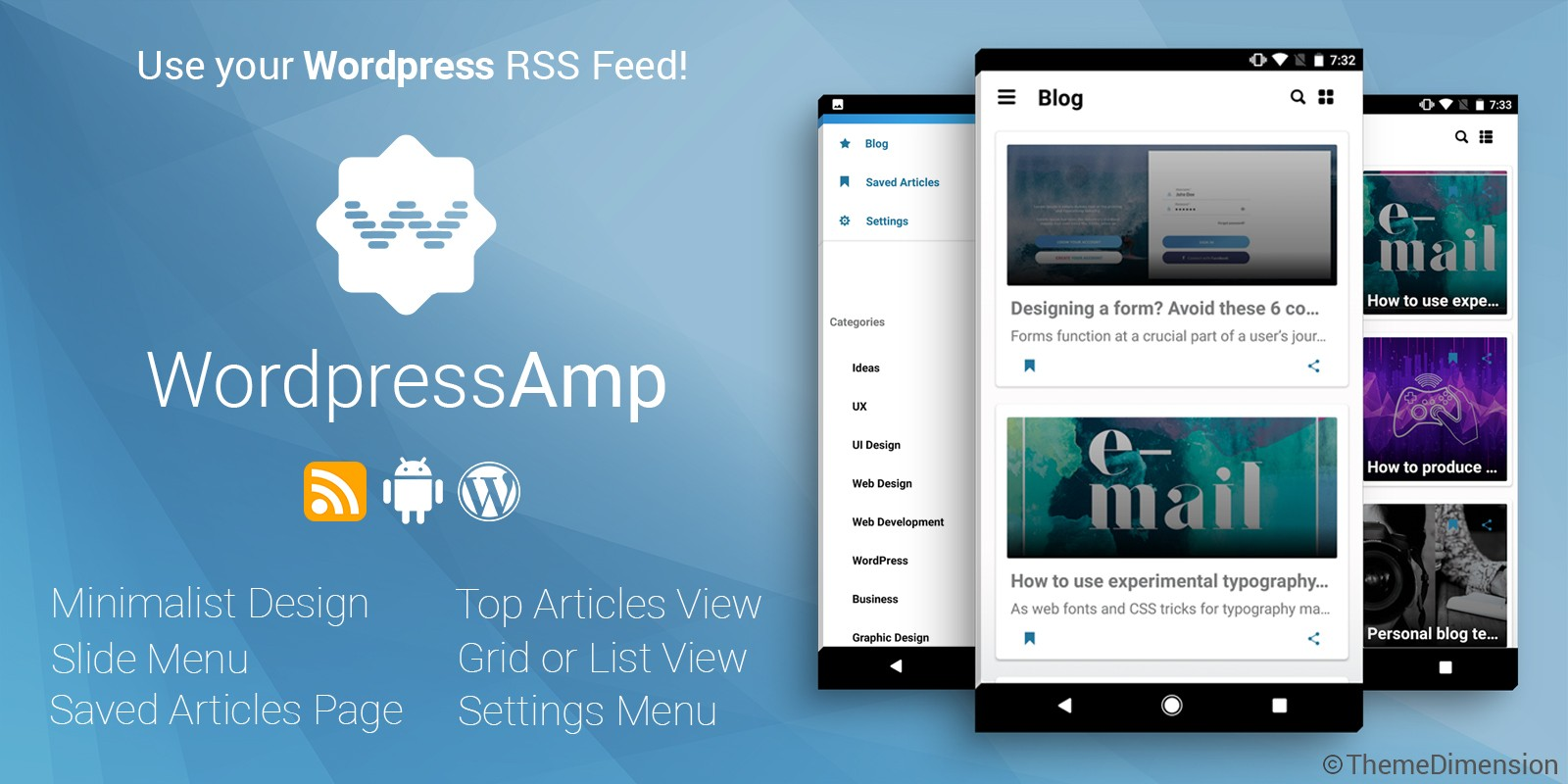 WordpressAmp - Android News Application