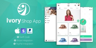 Ivory Shop - iOS eCommerce App