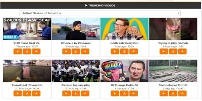 YouTube Unlimited API Video Grabber Script