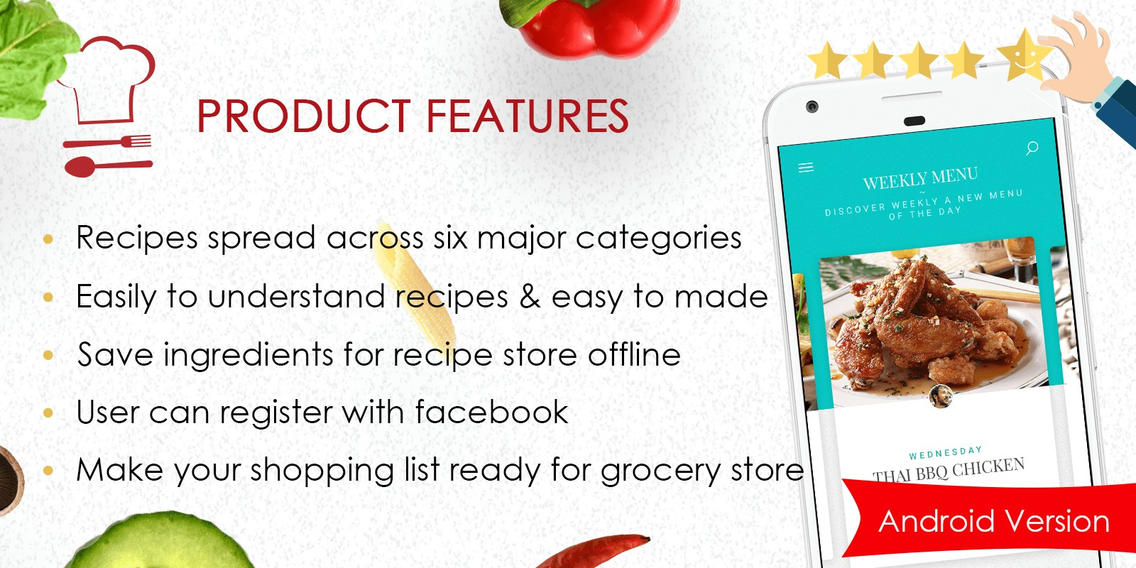 Foodie recipes android app source code food app templates for foodie recipes android app source code forumfinder Choice Image