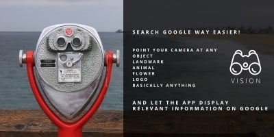 Vision - Visual Google Search Ionic App