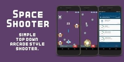 Space Shooter - Android Game Source Code