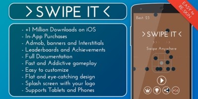 Swipe It - Android Game Source Code