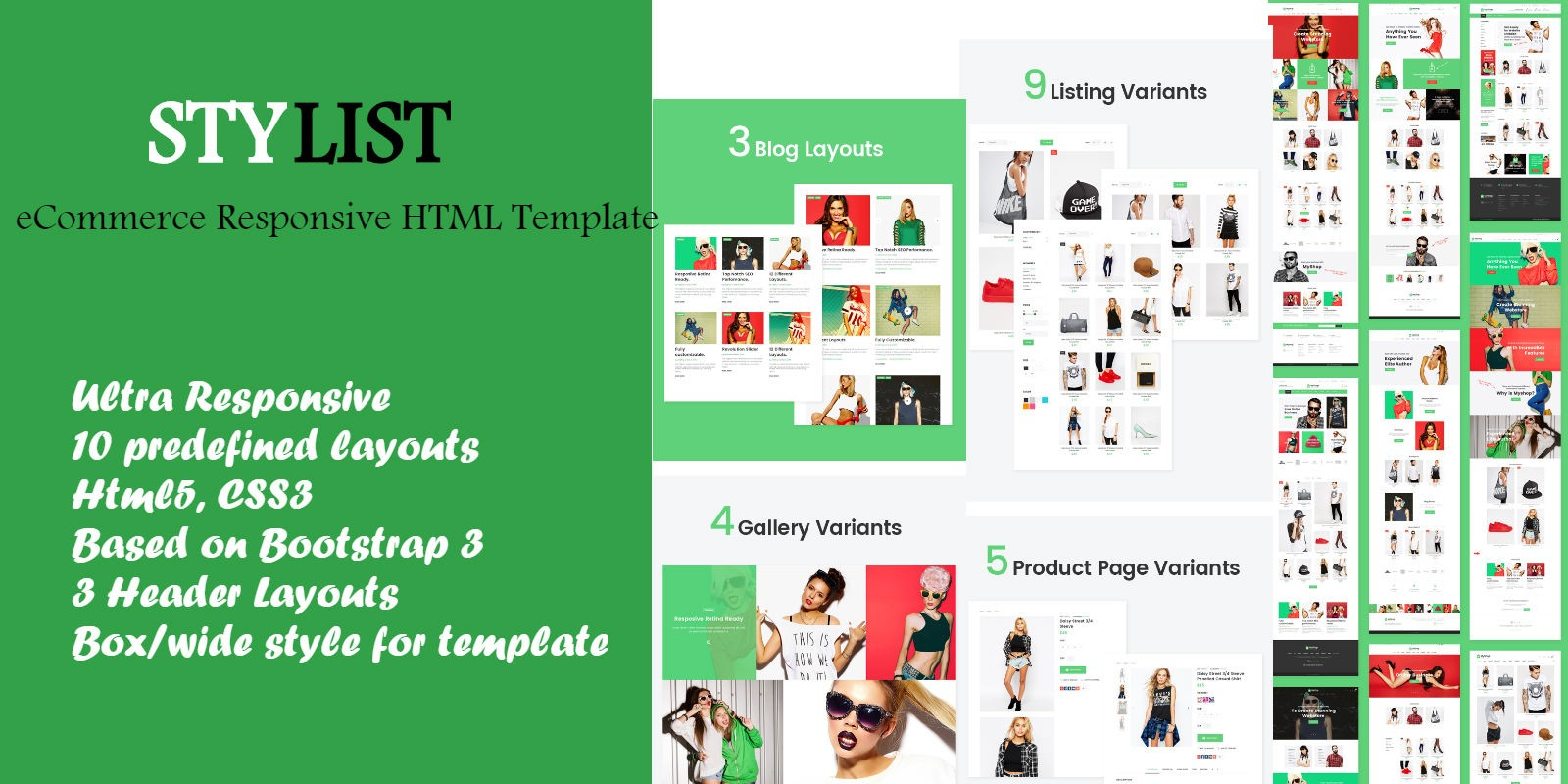 Stylist - eCommerce HTML Template