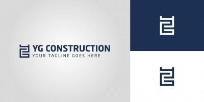 YG Construction  ​Logo Template​