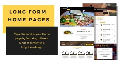 VW Restaurant Pro - WordPress Theme