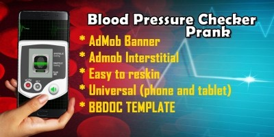 Blood Pressure Checker Prank - Buildbox Template