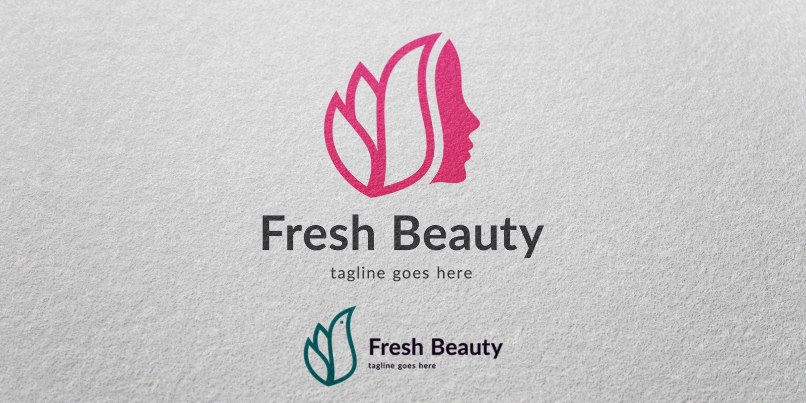 Fresh Beauty - Logo Template - Fashion Logo Templates | Codester