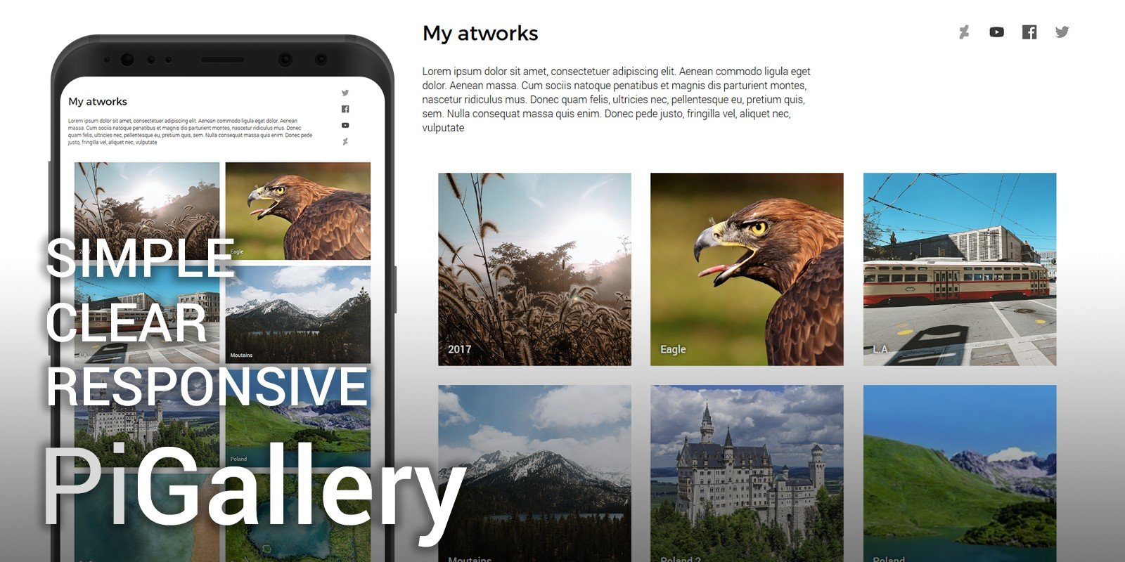 PiGallery - PHP Gallery Script