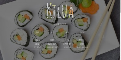 Sushi Restaurant Template