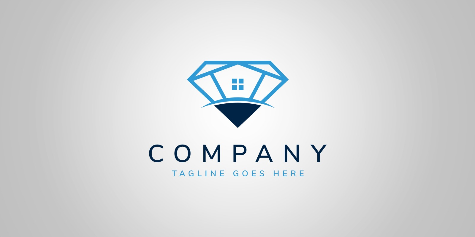 vector logo diamond premium quality
