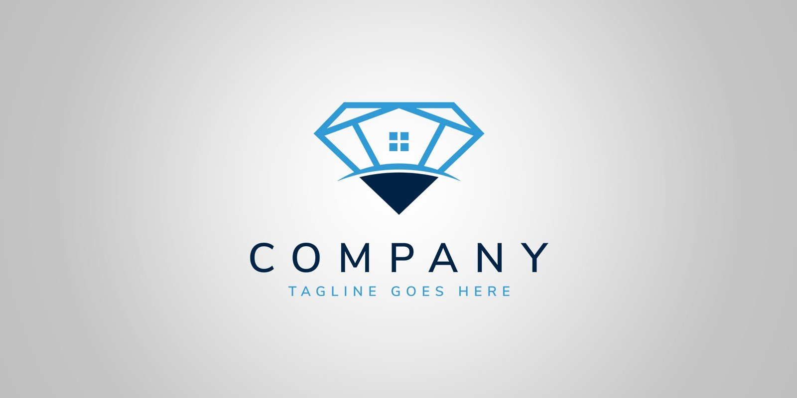 Diamond House - Logo Template