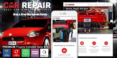 Car Repair - Auto Mechanic WordPress Theme