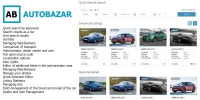 Autobazar - Laravel Car Classifieds Platform