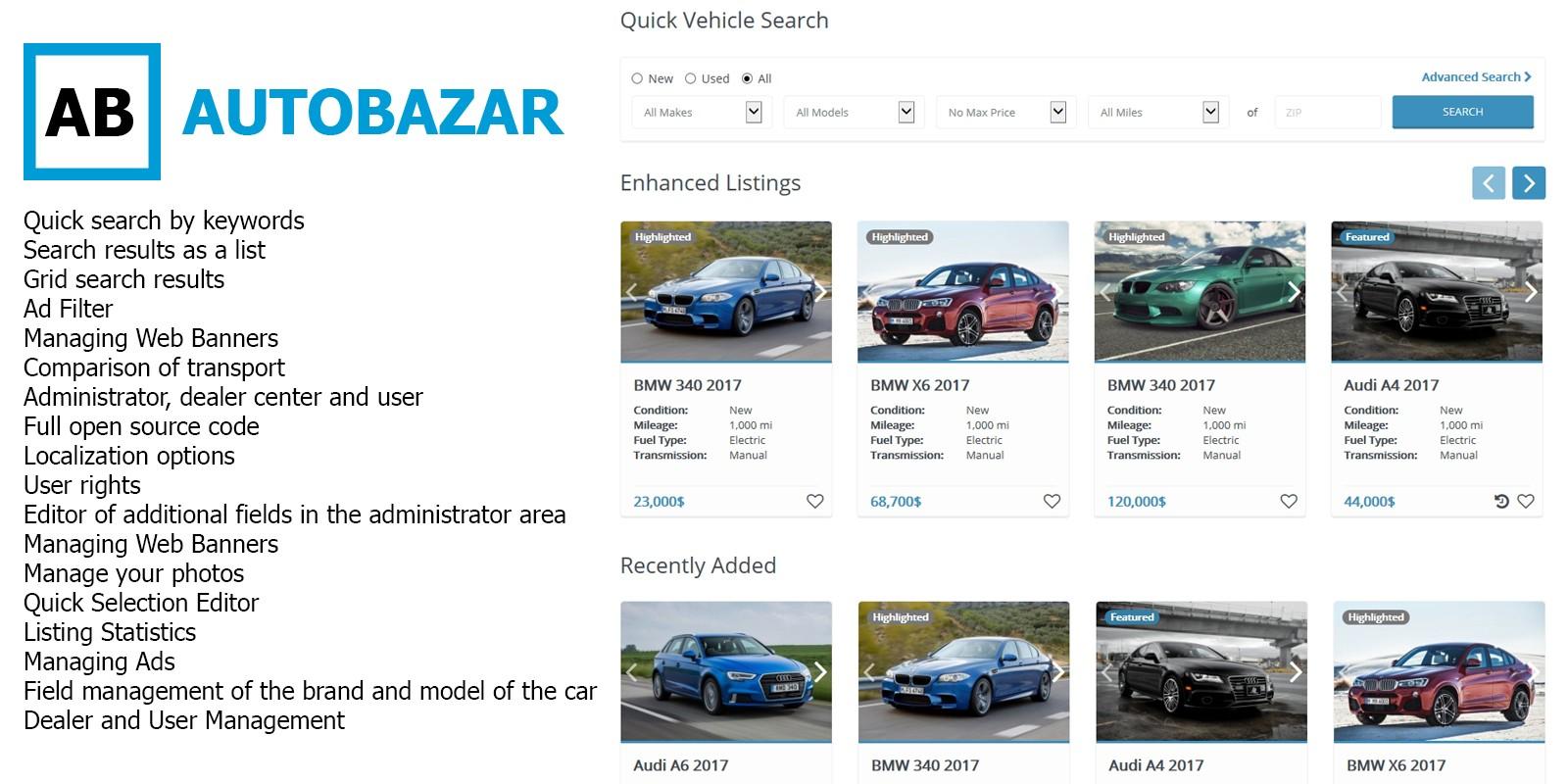 Autobazar - Laravel Car Classifieds Platform - Miscellaneous PHP ...