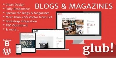 Glub - Responsive WordPress Blog Theme