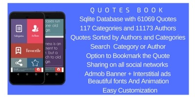 Quotes Pro - Android App Source Code