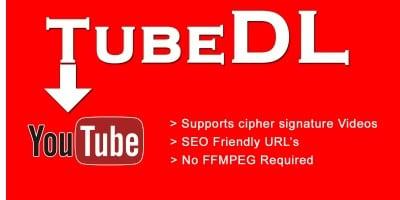 Tubedl - Youtube  Downloader PHP