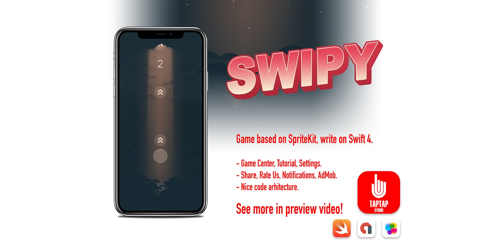 Swipy - iOS Game Source Code