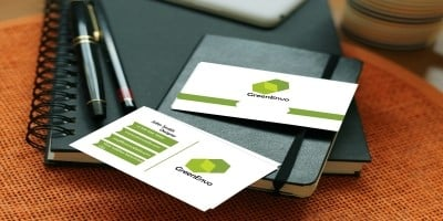 GreenEnvo - Business Card Template