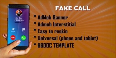 Fake call clown - Buildbox BBDOC Template