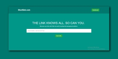 ShortURL - Pay Per Click URL Shortener PHP