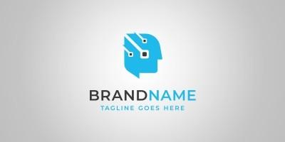 Chat Tech - Logo Template