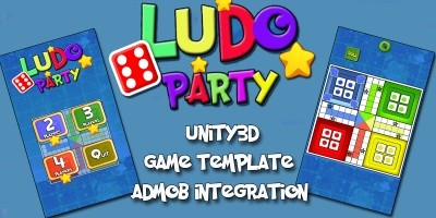 Ludo Party Unity3D Source code With AdMob