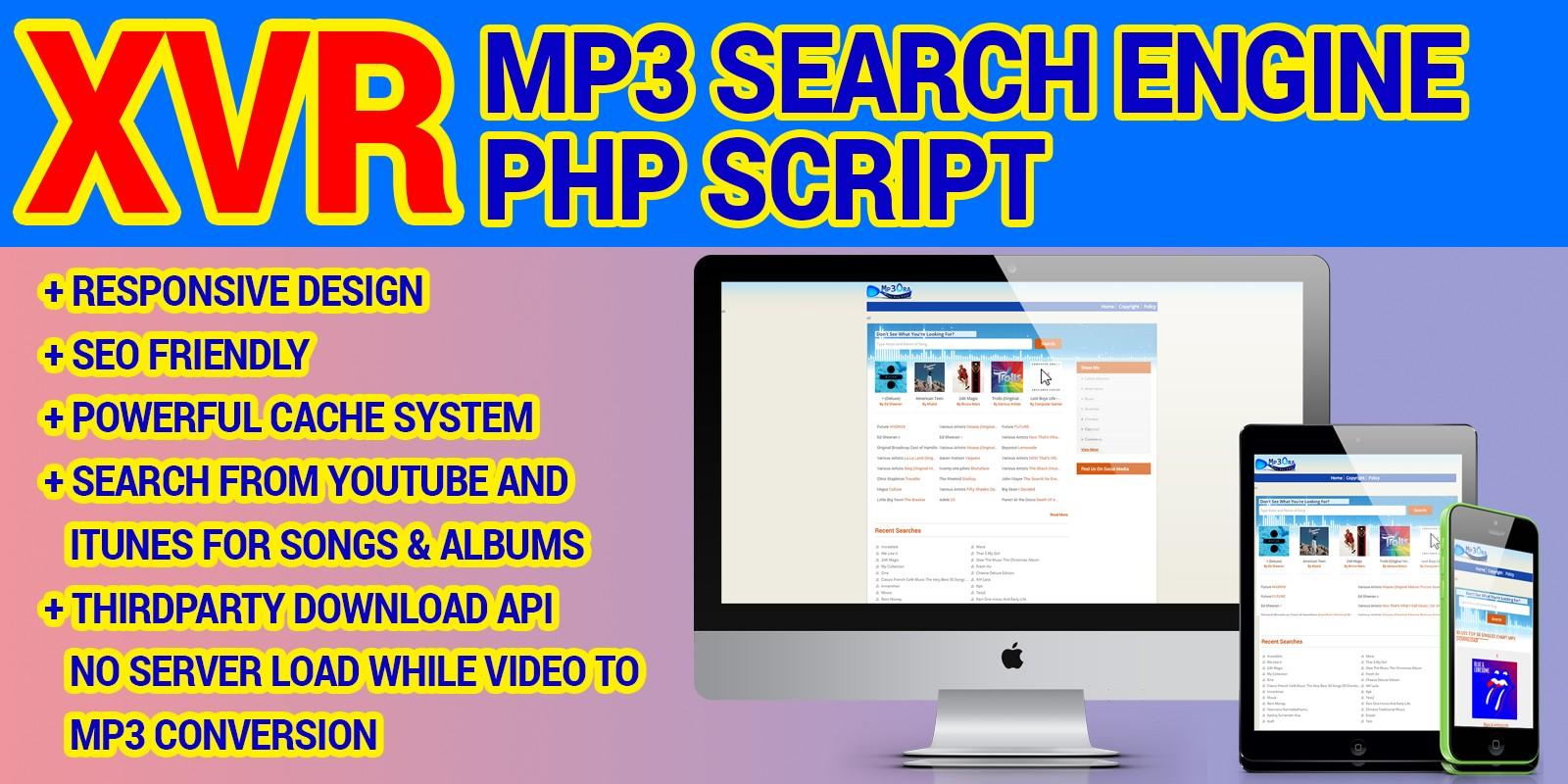 Mp3OraXVR - Mp3 Search Engine