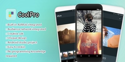 CoolPro Photo Editor - Android Studio Project