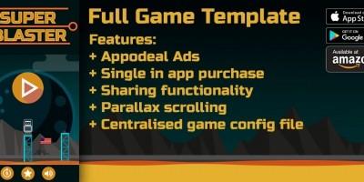 Super Blaster - Corona Game Template