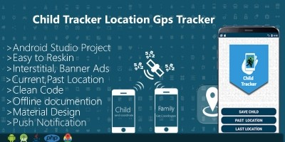 Child Location GPS Tracker - Android Template