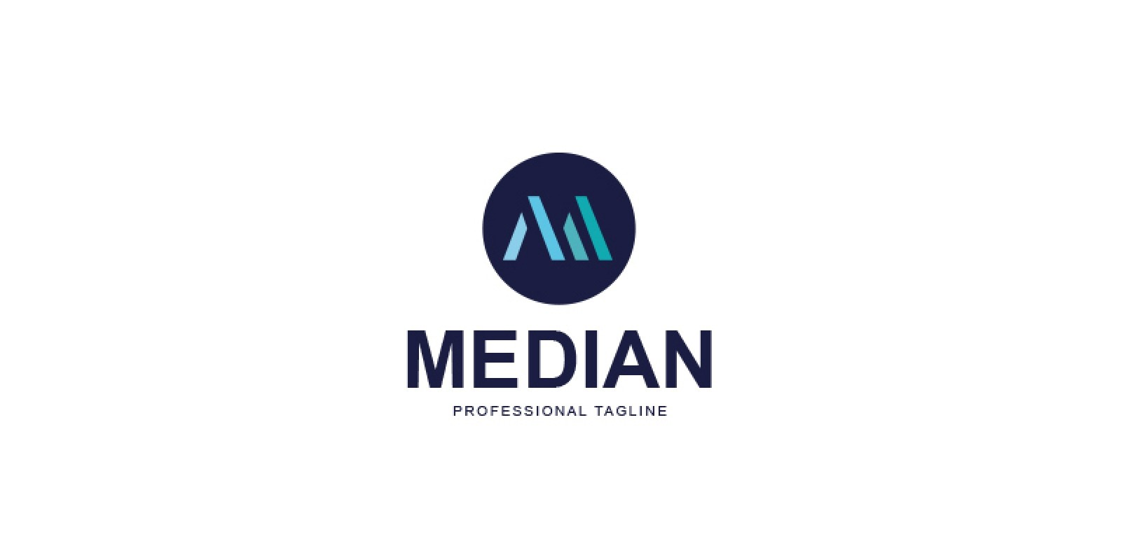 Median Logo Design