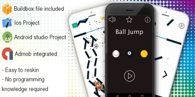 Ball Jump - Buildbox Game Template