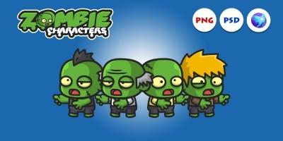 Mini Zombie Characters