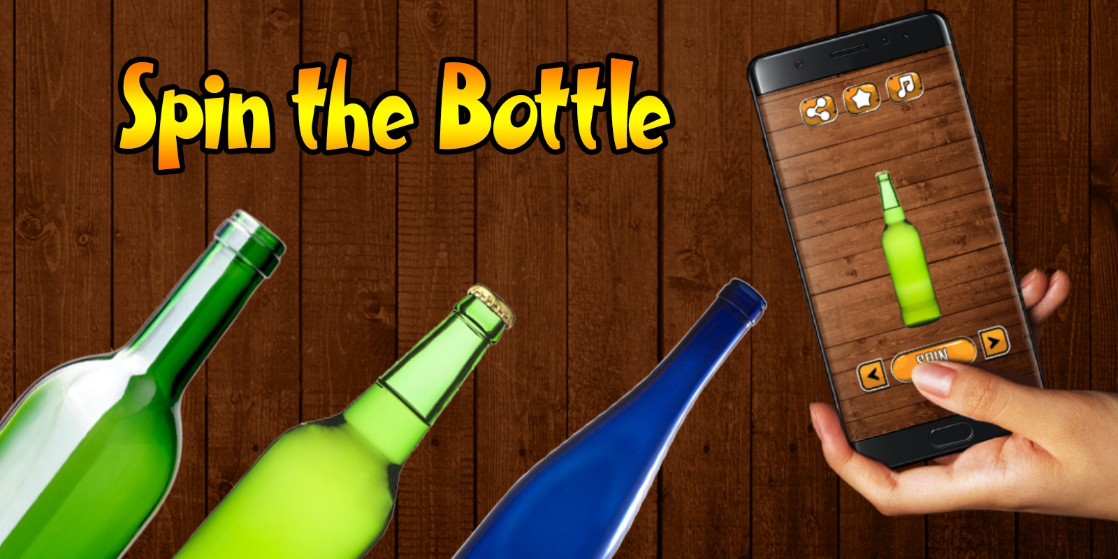 Spin The Bottle - Buildbox Template