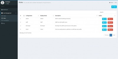 User Management System - Laravel