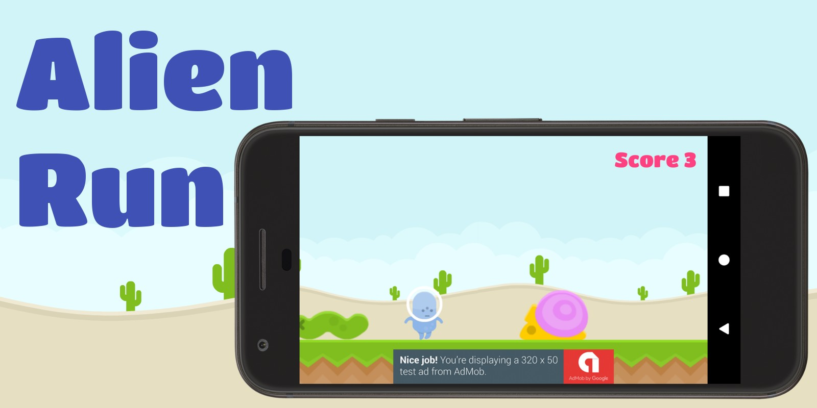 Alien Run - Android Game Source Code