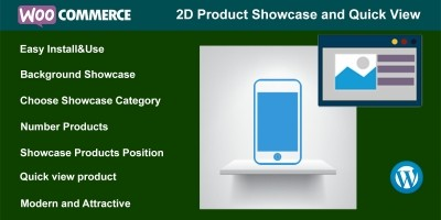 WooCommerce 2D Product Showcase And Quick View