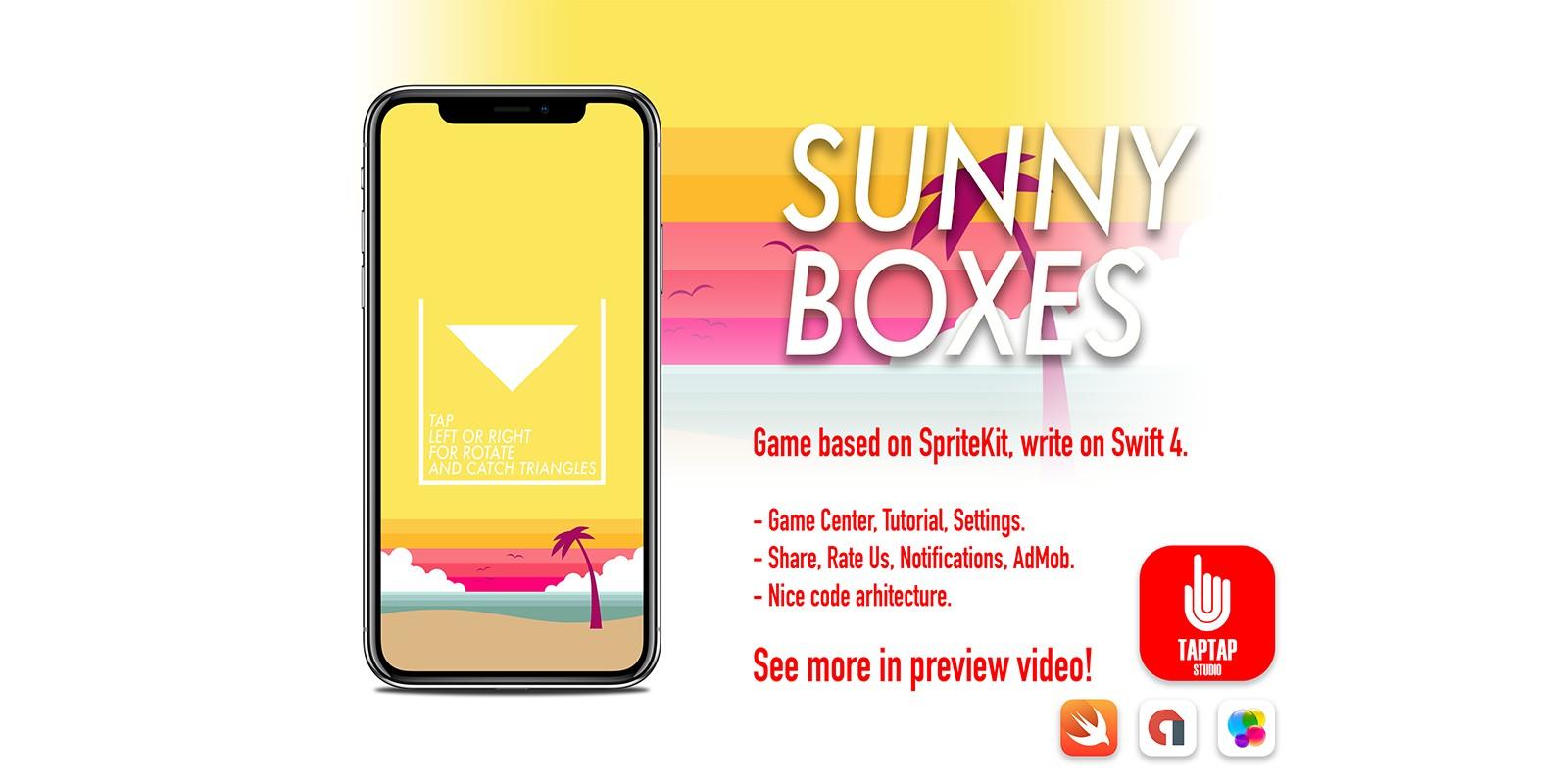 Sunny Boxes Ios Xcode Template Codester
