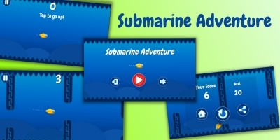 Submarine Adventure - Unity Game Source Code