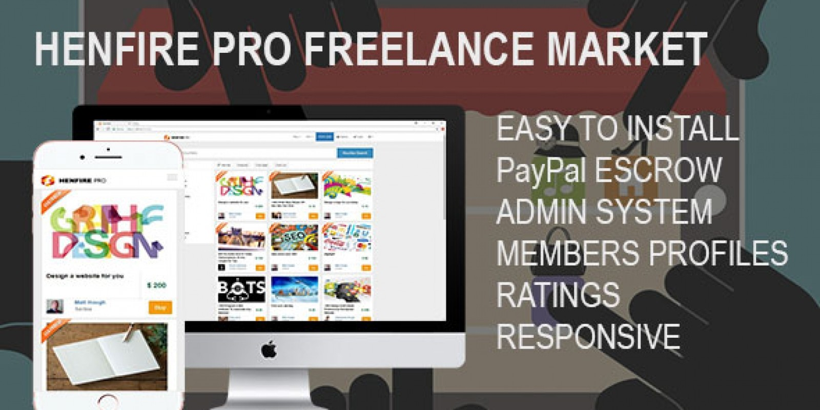 henfire pro lance jobs marketplace script miscellaneous  henfire pro lance jobs marketplace script
