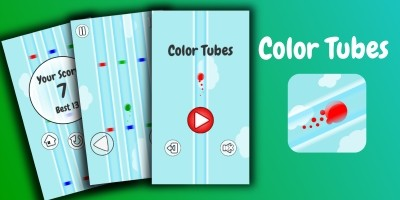 Color Tubes - Unity Game Source Code