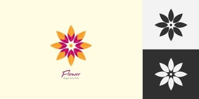 Flower Logo Template