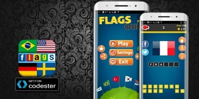 Flag Quiz - Android Source Code