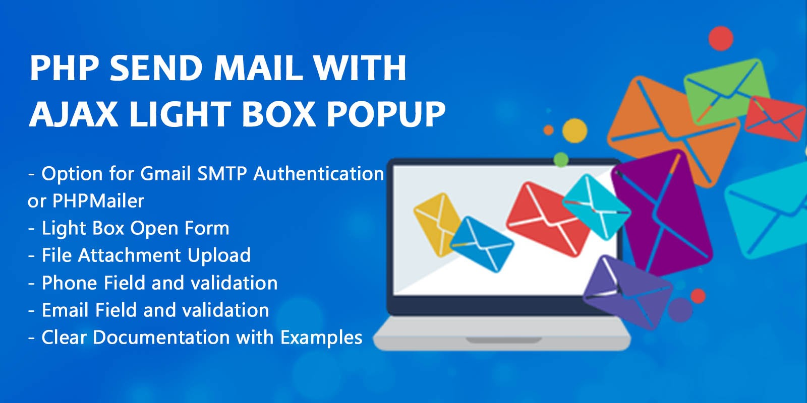 Php Send Mail With Ajax Light Box Popup
