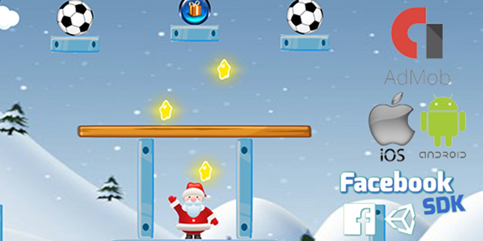 Santas Gift - Unity Physic Puzzle Game