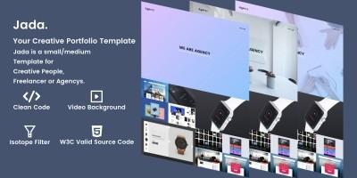 Jada - Creative Portfolio HTML Template